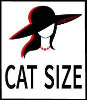 Cat size